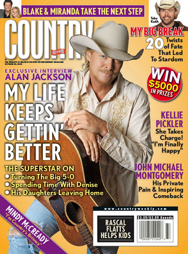 Country Weekly Cover
